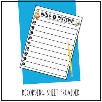 Build a Pattern! Task Cards