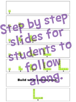 Build a Pattern Whole Group Algebraic Thinking Activity