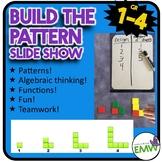 Build a Pattern Whole Group Algebraic Thinking Activity
