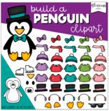 Build a Penguin Clipart