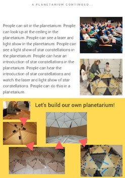 Build a Personal Planetarium STEAM PBL (Grade 3-5)