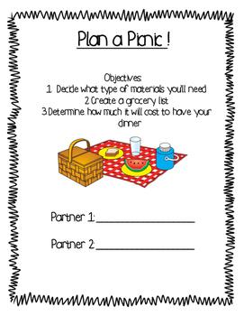 Build a Picnic!