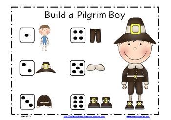 Build a Pilgrim Math Game