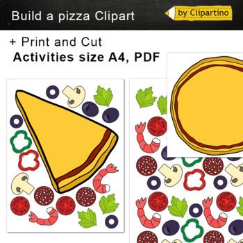 Build a Pizza Clipart