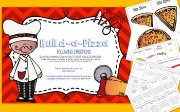 Build-a-Pizza: Following Directions