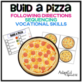 Build a Pizza Following Directions