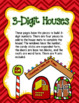 Build a Place Value GINGERBREAD House - Holiday 2 and 3 Digit Place Value