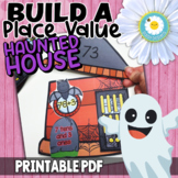 Build a Place Value HAUNTED House -Halloween 2 and 3 Digit