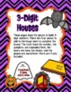 Build a Place Value HAUNTED House - Halloween 2 and 3 Digi