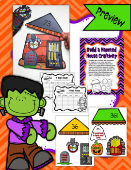 Build a Place Value House BUNDLE - 4 Resources