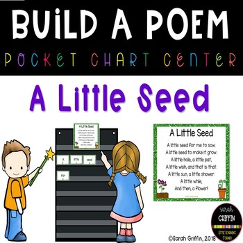 Build a Poem ~ A Little Seed ~ Pocket Chart Center