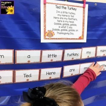 #worldteacherday Build a Poem ~ Bundle ~ Seasonal Pocket Chart Poems