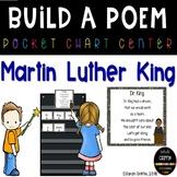 Build a Poem ~ Dr. King ~ Pocket Chart poetry center