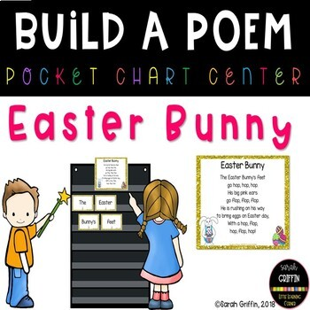 Build a Poem ~ Easter Bunny ~ #Easterbunny