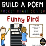 Build a Poem ~ Funny Bird ~ Thanksgiving turkey poem for pocket chart center