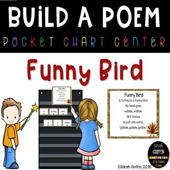 Build a Poem ~ Funny Bird ~ Thanksgiving turkey poem for p