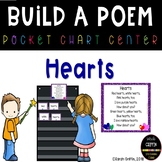 Build a Poem  Hearts  Pocket Chart Poetry Center