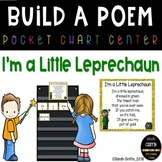 Build a Poem ~ I'm a Little Leprechaun ~ St. Patrick's Day
