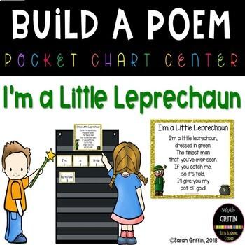 Build a Poem ~ I'm a Little Leprechaun ~ St. Patrick's Day