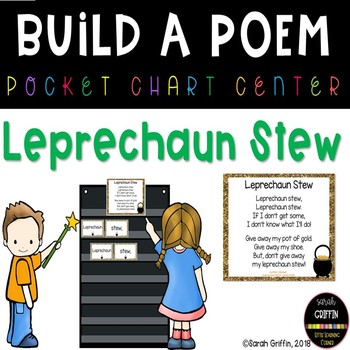 Build a Poem ~ Leprechaun Stew ~ St. Patrick's Day Pocket