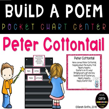 Build a Poem ~ Peter Cottontail ~ Easter Pocket Chart Center