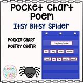 Build a Poem Pocket Chart Activity: The Itsy Bitsy Spider
