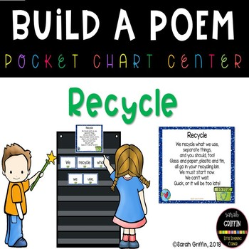 Build a Poem ~ Recycle ~ Pocket Chart Center