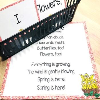 Build a Poem ~ Springtime ~ Pocket Chart Center