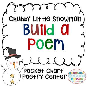 image about Chubby Little Snowman Poem Printable named A Obese Minimal Snowman Worksheets Education Components TpT