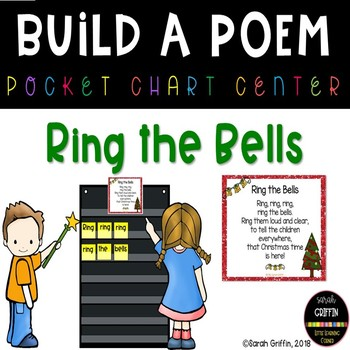 Build a Poem ~ Ring the Bells ~ pocket chart poetry center