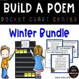 Build a Poem Winter Pocket Chart Centers - Bundle