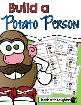 Build a Potato Person - Eight Math Games in One!