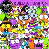 Build a Pumpkin Clipart {Halloween Clipart}