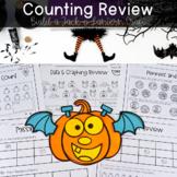Build a Pumpkin - Number Sense Review
