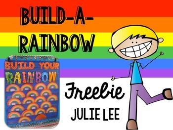 Build a Rainbow Freebie