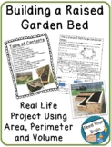 Build a Raised Garden Bed - Perimeter, Area and Volume