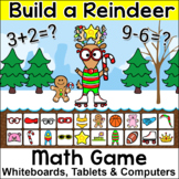 Christmas Math Addition and Subtraction Build a Reindeer G