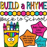 Build a Rhyme Back to School