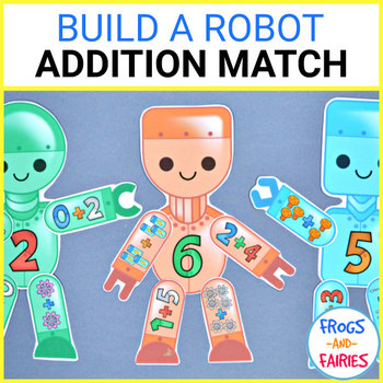Build a Robot Addition Match