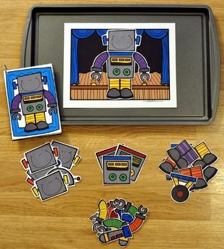 Build a Robot Center Activities