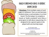 Build a Sandwich: A Generic Game