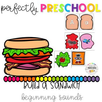 Build a Sandwich Beginning Sounds