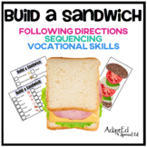 Build a Sandwich Following Directions