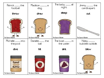 Build-a-Sandwich: Regular vs Irregular Past Tense Verbs