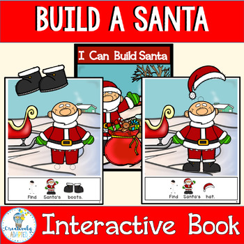 Build a Santa-INTERACTIVE ADAPTED BOOK