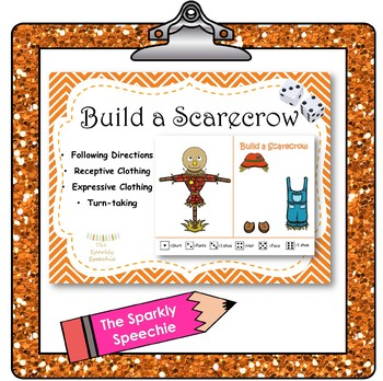 Build a Scarecrow: Speech Activity - Receptive & Expressive Clothes