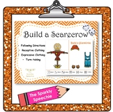 Build a Scarecrow: Speech Activity - Receptive & Expressiv