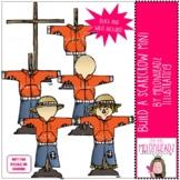 Build a Scarecrow clip art - Mini - by Melonheadz Clipart