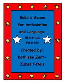 Build a Scene Election Day Ballot Box