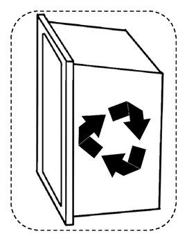 Build a Scene: Recycle Bin